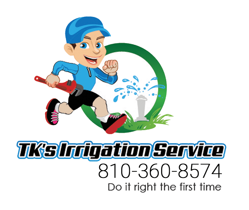 TK Irrigation Service Logo